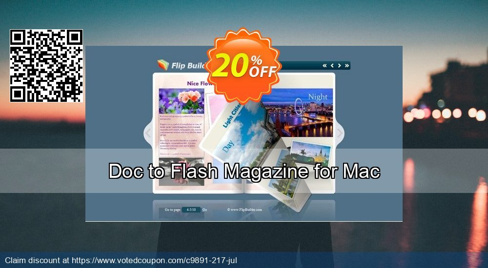 Get 20% OFF Doc to Flash Magazine for Mac offering deals