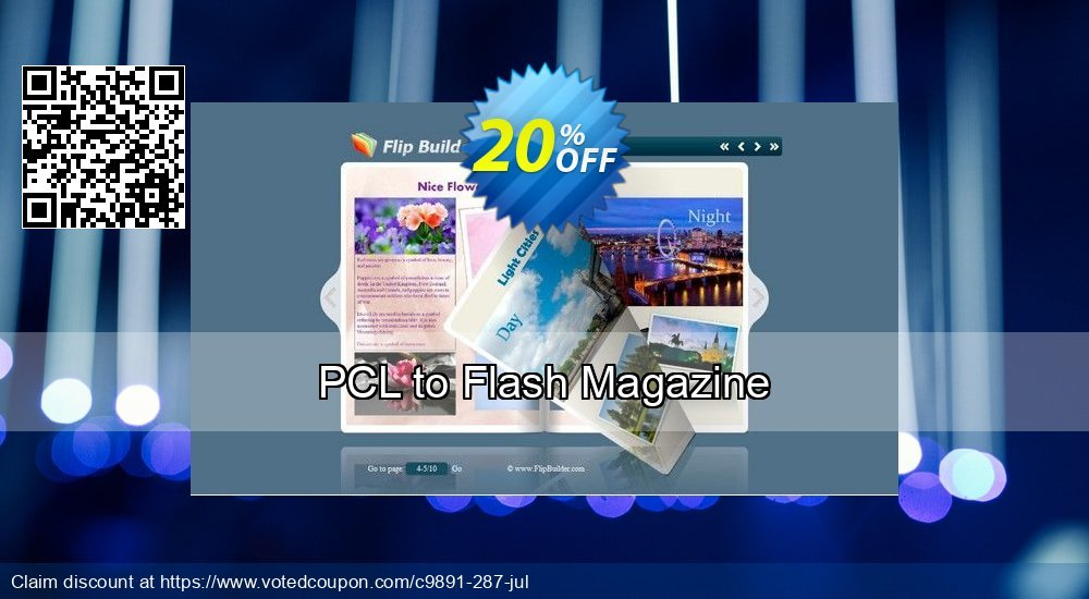 Get 20% OFF PCL to Flash Magazine offering discount