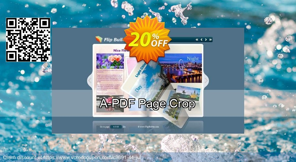 Get 20% OFF A-PDF Page Crop offering sales