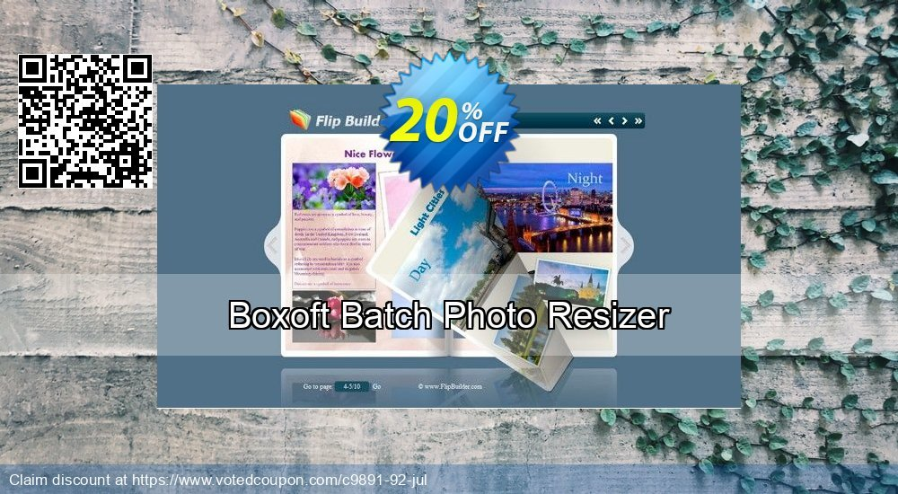 Get 20% OFF Boxoft Batch Photo Resizer deals