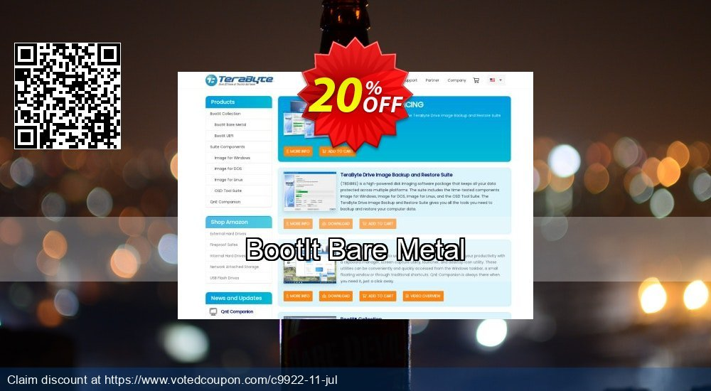 Get 20% OFF BootIt Bare Metal discounts
